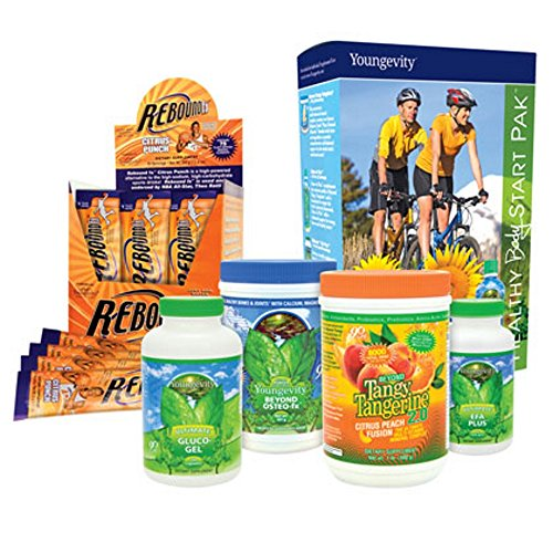 International Shipping  Youngevity Healthy Body Athletic Pack 2 0  Beyond Tangy Tangerine 2 0  Osteo Fx Powder  Ultimate Efa Plus  Rebound Fx  Glucogel