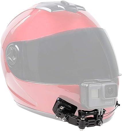 Motorrad Helmhalterung Kinnhalterung Halterung für Gopro Hero 9 8 7 6 5 Kamera