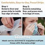MaskTite – Face Mask Tape, No Fogging Glasses. No