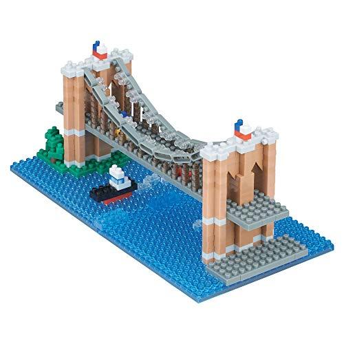 Nanoblock Brooklyn Bridge Building - Set Landmark