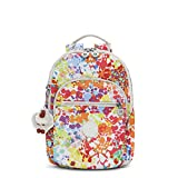 Kipling Women's Seoul Small Printed Backpack One Size Color Burst Bright