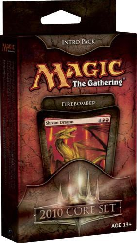 Magic the Gathering- MTG: Magic 2010 Core Set - Theme Deck - Intro Pack Red :...