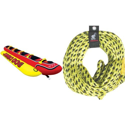 Airhead Double Dog Towable - Airhead Jumbo Dog Rope Bundle