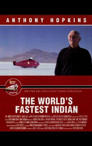 - The World's Fastest Indian Poster Movie 11x17 Anthony Hopkins Lana Antonova Juliana Bellinger