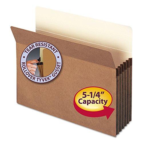 Expansion Pocket (Smead File Pocket, Straight-Cut Tab, 5-1/4
