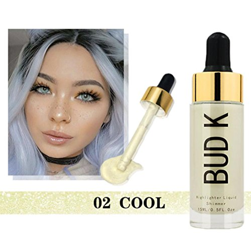 Price comparison product image Ourhomer Waterproof Lasting Face Foundation Makeup Base Liquid Concealer Moisturizer Oil-Control BB Cream (B)