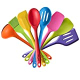 TTLIFE Silicone Kitchen Utensil Set, Colorful 11pc Cooking Tools Deal (Small Image)