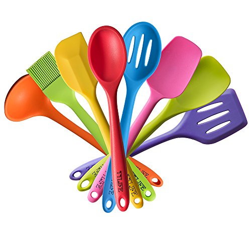 Grey Silicone Kitchen Utensils