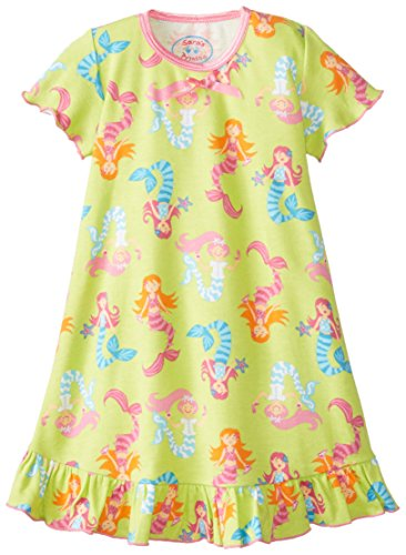 Sara's Prints Girls' Short Sleeve Nightie
