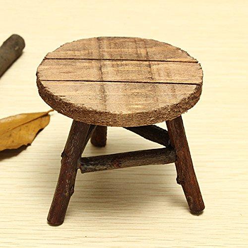 Zakka Mini Chair Mini Desk Photography Props Round - 1