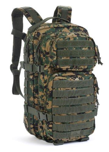 Red Rock Outdoor Gear Assault Pack (Medium, Woodland Digital Camouflage)