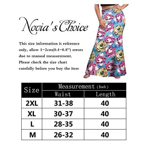 Novias Boutique - Falda - para mujer Flower 3