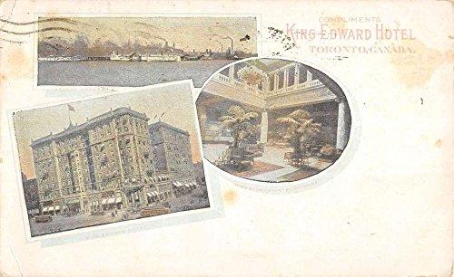 (Toronto Canada King Edward Hotel Multiview Antique Postcard K86862)