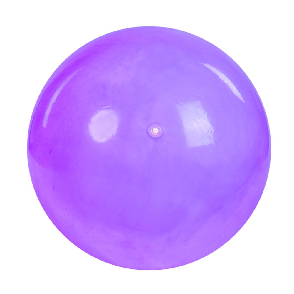 Zerone Yoga-Ball, 65 cm Anti-Burst Fitness Gym Yoga Balance Kraft Stabilität Ball mit Luftpumpe (Lila, B)