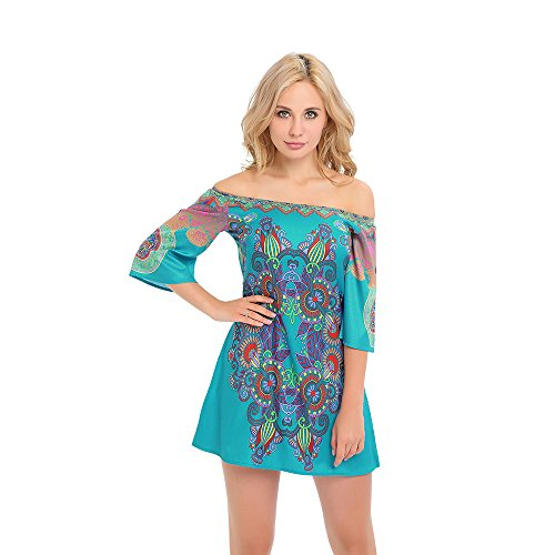 Yagoor Womens Casual Printed Shoulder product image