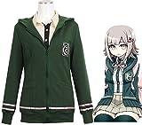 GK-O Danganronpa 2 Nanami Chiaki Hoodies Costume Cosplay Jacket Coat Hooded (Medium)