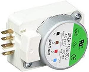 Edgewater Parts 502412010003 Defrost Timer (16 Hr. 8 Min.) Compatible With Daewoo Midea Refrigerator