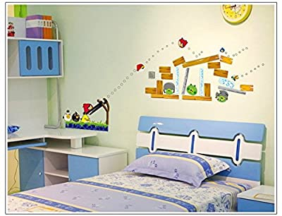 Fangeplus(TM) DIY Removable Art Mural Vinyl Waterproof Wall Stickers Kids Room Decor Nursery Decal Sticker Wallpaper 27.5''x19.6''