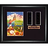 Beauty and the Beast Disney - Framed double filmcell picture (bd)