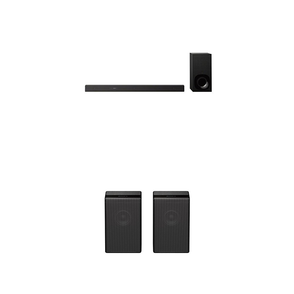 Sony Sound Bar with Rear Speakers: HT-Z9F 3 1ch Dolby Atmos / DTS:X TV  Soundbar Speaker System with WiFi & Bluetooth Technology, Subwoofer & 2 Z9R