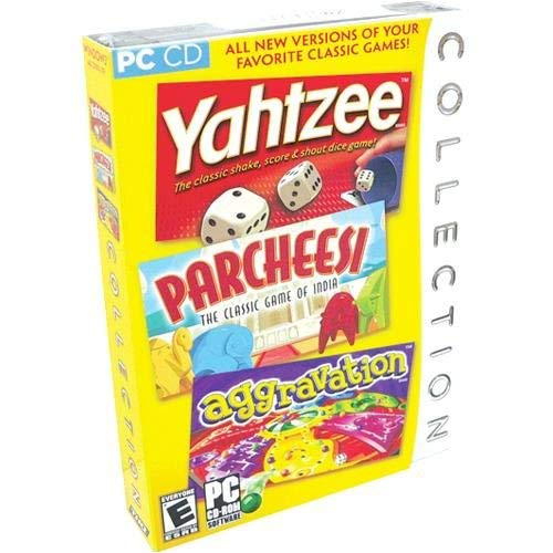 Yahtzee / Parcheesi / Aggravation Collection [並行輸入品] B07SC5XG8W