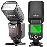 K&F Concept KF-560 Universal Speedlite Flash with LCD Display for Canon Nikon DSLR Cameras