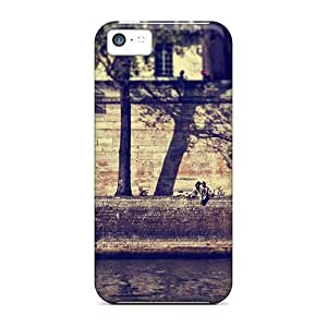 For Iphone 5c Tpu Phone Case Cover(au Bord De La Seine)