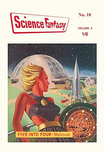 Science-Fantasy: World of the Future 12x18 Giclee on canvas