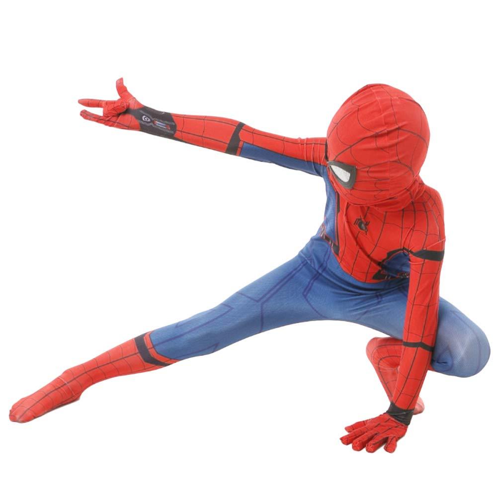 QQWE Niños Spiderman Disfraz Disfraz Juego De Película ...