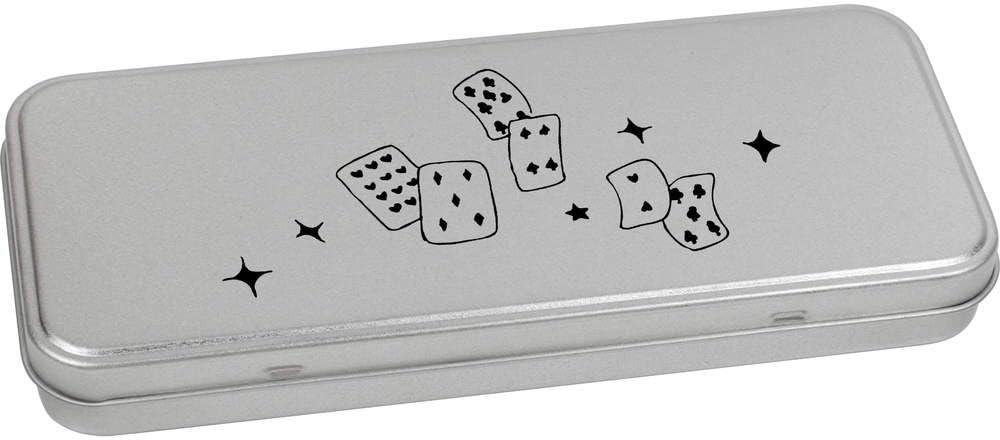 Azeeda 110mm x 80mm Jouer aux Cartes bo/îte de Rangement TT00028475