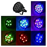 DMX-512 25W 18 LED Stage Light 7CH 5 Control Modes Party Disco DJ Lighting