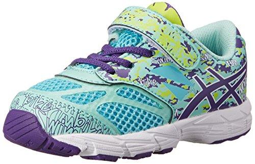 ASICS Kids Noosa Tri 10 TS Running Shoe Turquoise/Grape/Lime