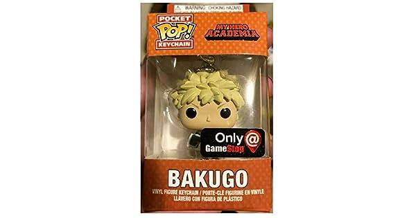 Amazon.com: Funko Pocket Pop! Bakugo Llavero Exclusivo: Toys ...