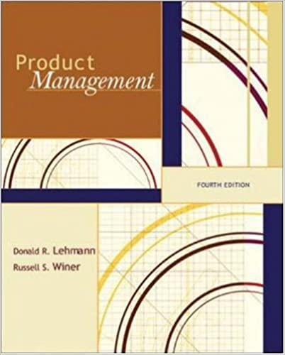 lehmann and winer%2C product management%2C mcgraw hill%2Firwin  Product Management (McGraw-Hill/Irwin Series in Marketing): Donald ...