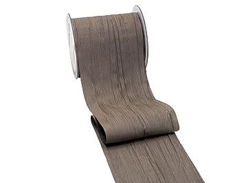 Unbekannt 15m Fripe Tischband Tischdeko Taupe Greige Kommunion