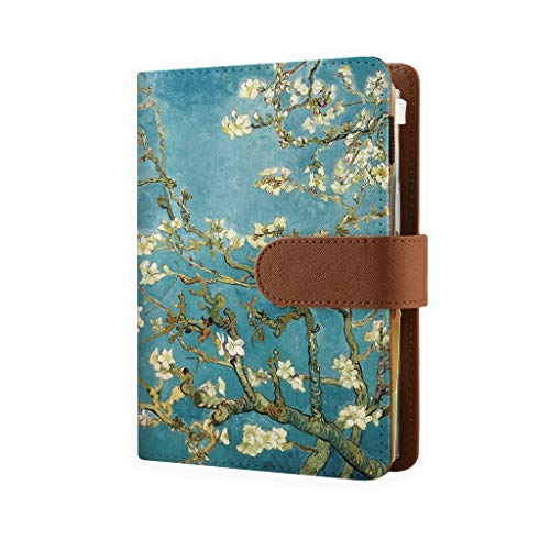 """2020 Refillable Binder Planners, 6 Ring Personal Organizer with 2020-2022 Calendar, Refillable Planners Organizer Notebook, Almond Blossom - Personal Size with Refills 6.73"""" x 3.74"""" (95mm x 171mm)"""