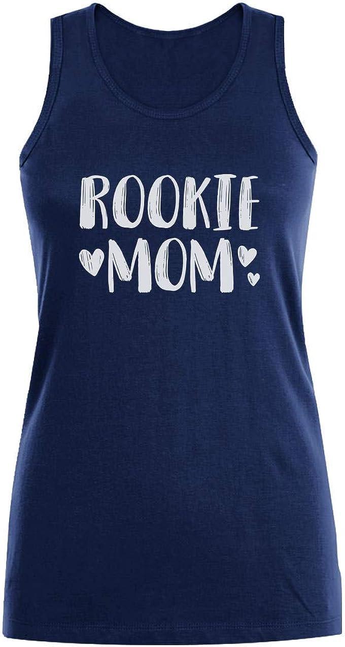 Camiseta sin Mangas para Mujer - Rookie Mom - Regalo para Mamá Primeriza