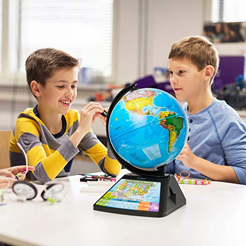 Oregon Scientific SG268R-K Smart Globe Adventure AR World Geography Educational Games For Kids - Learning Toy, 4000+ Fun facts, 220+ Countries to Explore, 25 Games to Play by Oregon Scientific (Image #5)