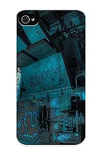 Awesome IeWZmbi700LqPVk Markrebhood Defender Tpu Hard Case Cover For iPhone 5 5s- Urban Decay Abandon Deserted Room Fisheye Apocalyptic Dark Ruins