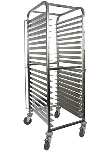 (Front-Load Knock Down Bakery Rack All Stainless Steel, for Full Size Sheet Pans (1, For 20 trays) )
