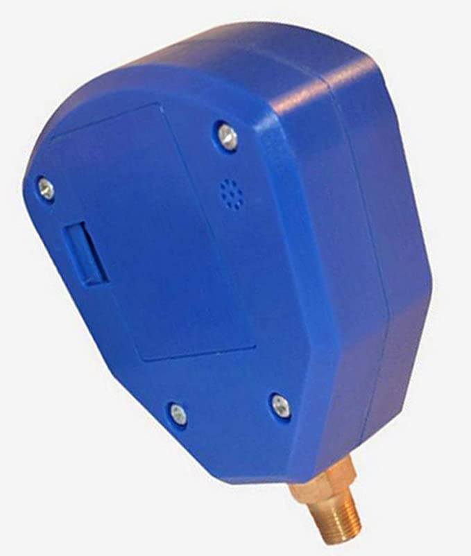 MuChangZi 1 Unids R22 R410 R407C R404A R134A Aire Acondicionado Equipo de Refrigeraci/ón Medidor de Presi/ón Digital a Bater/ía