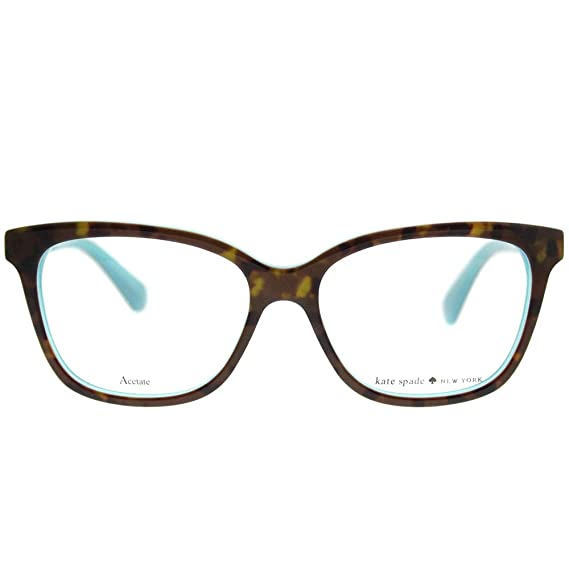 1fd7a38dcf28 Eyeglasses Kate Spade Jorja 0FZL Havana Turquoise at Amazon Men's Clothing  store: