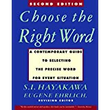 Choose the Right Word: Second Edition