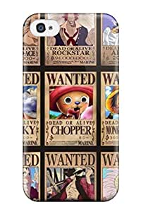 Special Design Back One Piece Anime Movie Wanted Phone Case Cover For Iphone 4/4s