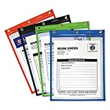C-Line 50920 Heavy-Duty Super Heavyweight Plus Shop Ticket Holders, Assorted, 9 x 12, 20/BX