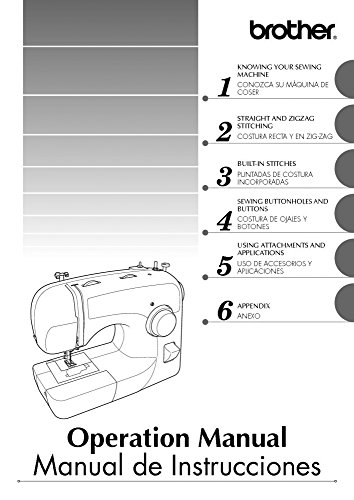 Brother LS-590 Sewing Machine Owners Instruction Manual [Plastic Comb] There and Back