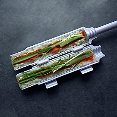 Sushi bazooka by Sushedo. Sushi Roll making kit [BEST QUALITY ON THE MARKET] Sushi bazooka sushi maker tube