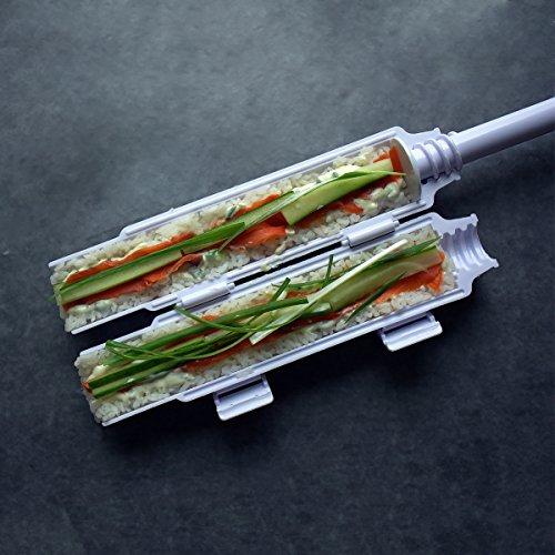 Sushi bazooka by Sushedo. Japanese Sushi making kit |BEST QUALITY ON THE MARKET| Sushi bazooka machine sushi maker tube