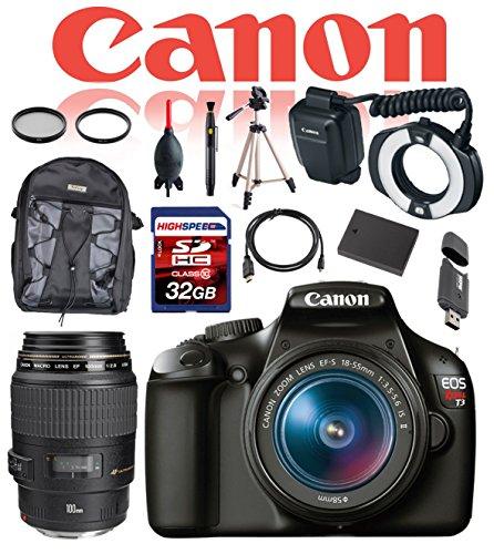 Canon Dental and Dermatology Kit EOS Rebel T3 DSLR Camera...