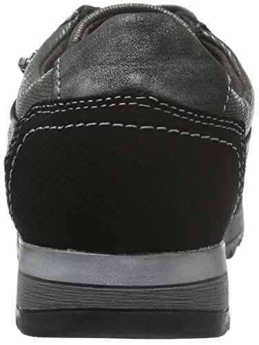 Jana Damen 23701 Sneaker Schwarz (Black Comb 098)